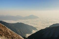 Montañas de Wugong Fotos de archivo