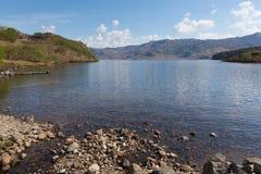 Montañas escocesas Escocia del oeste Reino Unido de Morar del lago Foto de archivo