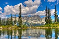 Montañas hermosas Imagen de archivo libre de regalías