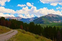 Montañas Montana de Pintler Fotografía de archivo libre de regalías