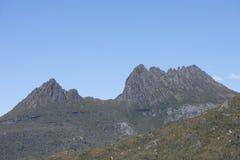 Montañas Tasmania Australia de la cuna Imagenes de archivo