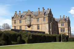 Montacute House and the cedar lawn Stock Photography