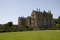 Montacute House from the gardens Stock Image