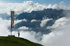 Montafon, Vorarlberg, Áustria Foto de Stock Royalty Free