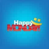 Montag-Hintergrund Stockbilder