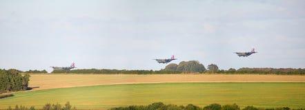 Montage μιας RAF Hercules προσγείωσης Στοκ φωτογραφίες με δικαίωμα ελεύθερης χρήσης