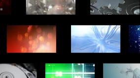 Montage των βιντεοκλίπ διανυσματική απεικόνιση