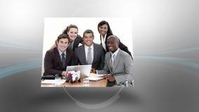 Montage των επιχειρησιακών συνεδριάσεων φιλμ μικρού μήκους