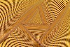 Montage abstrait de photo de bois de construction jaune-orange Photos libres de droits