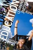 Montage d'éducation Image stock