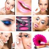 Montage de beauté Photos libres de droits