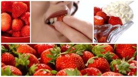 Montage de fraises clips vidéos