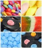 Montage de sucrerie photographie stock libre de droits