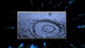 Montage der Elemente der Natur stock video