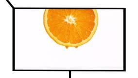 Montage der gesunden Frucht stock video