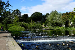 Montage en étoile de rivière, Bakewell photos libres de droits