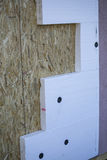 Montage house exterior wall insulation Royalty Free Stock Images