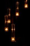 Montage léger avec l'effet de starburst Photographie stock