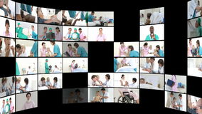 Montage of Medical Scenes 1 Stock Footage
