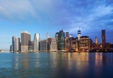 Free Montage Of Manhattan Skyline Night To Day - New York - USA Royalty Free Stock Photo - 44739345