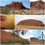 montage outback royaltyfri bild