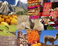 Montage - Peru Stock Photo