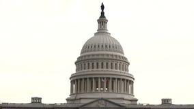 Montage von mehrfachen Schüssen von Washington DC-Marksteinen. stock footage