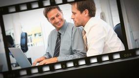 Montage von Sitzungen für Geschäft stock footage