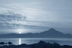 Montagem Athos Fotografia de Stock Royalty Free