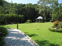 Montagem Austin Playground, Victoria Peak, Hong Kong foto de stock royalty free