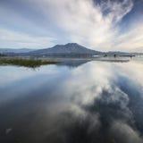 Montagem Batur, Bali de Indonésia imagem de stock royalty free