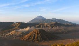 Montagem Bromo, Java, Indonésia Fotos de Stock Royalty Free