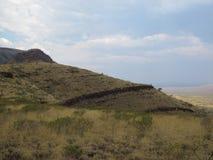 Montagem Bruce perto do parque nacional de Karijini, Austrália Ocidental imagens de stock