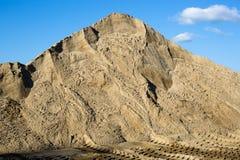 A montagem da areia da construção Imagens de Stock Royalty Free