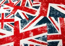 Montagem da bandeira do jaque de união Fotografia de Stock Royalty Free