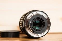 A montagem da lente imagens de stock