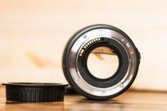 A montagem da lente imagem de stock