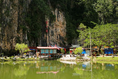 Montagem da natureza de Malásia Ipoh Perak Imagem de Stock