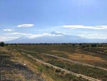 Montagem de Ararat, Armênia Imagem de Stock Royalty Free