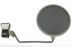 Montagem de choque do microfone Fotos de Stock