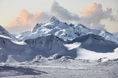 Montagem de Elbrus Imagem de Stock Royalty Free