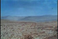 Montagem do deserto vídeos de arquivo