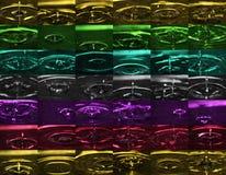 Montagem do macro da gota Imagem de Stock Royalty Free