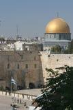 Montagem do templo e parede ocidental Imagem de Stock Royalty Free