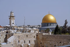 Montagem do templo em Jerusalem Foto de Stock