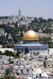 Montagem do templo em Jerusalem Fotografia de Stock Royalty Free