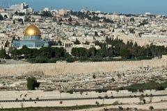 A montagem do templo em Jerusalem. Imagens de Stock Royalty Free