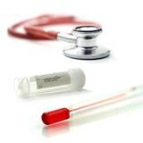 Montagem dos cuidados médicos Fotografia de Stock Royalty Free