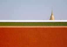 Montagem dourada Imagem de Stock