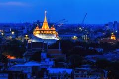 Montagem dourada, Tailândia Fotos de Stock